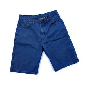 Levi's 569 loose fit jean shorts